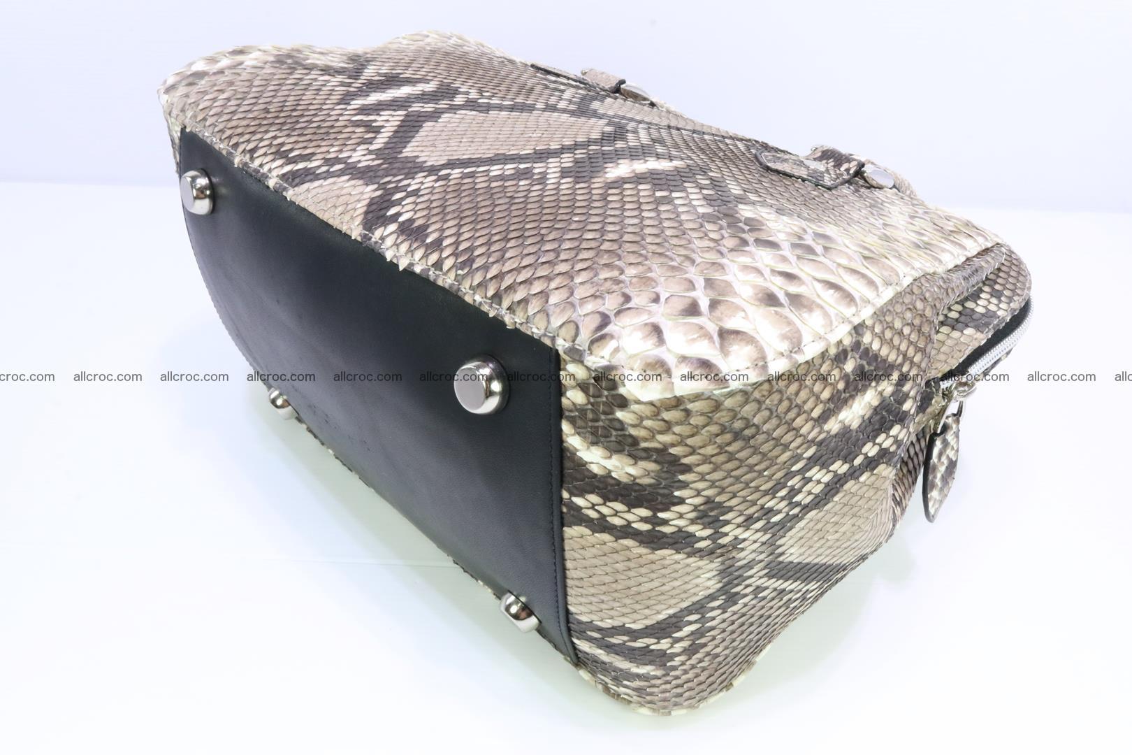 Handbag for women from genuine python skin 216 Foto 7