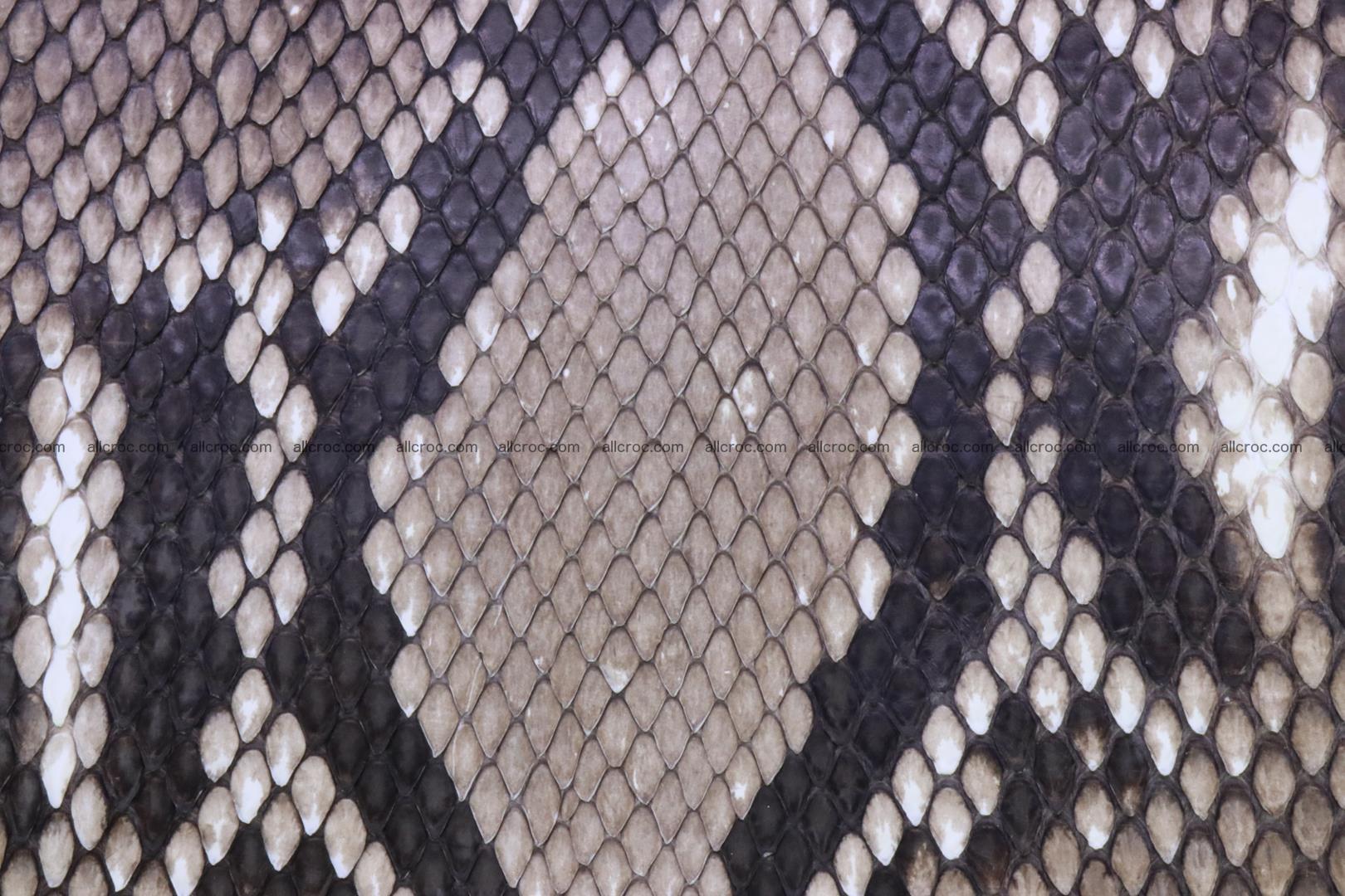 Handbag for women from genuine python skin 216 Foto 8