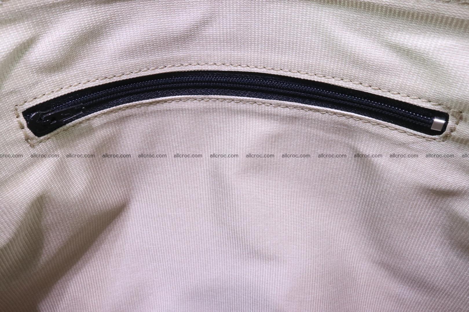 Handbag for women from genuine python skin 216 Foto 10