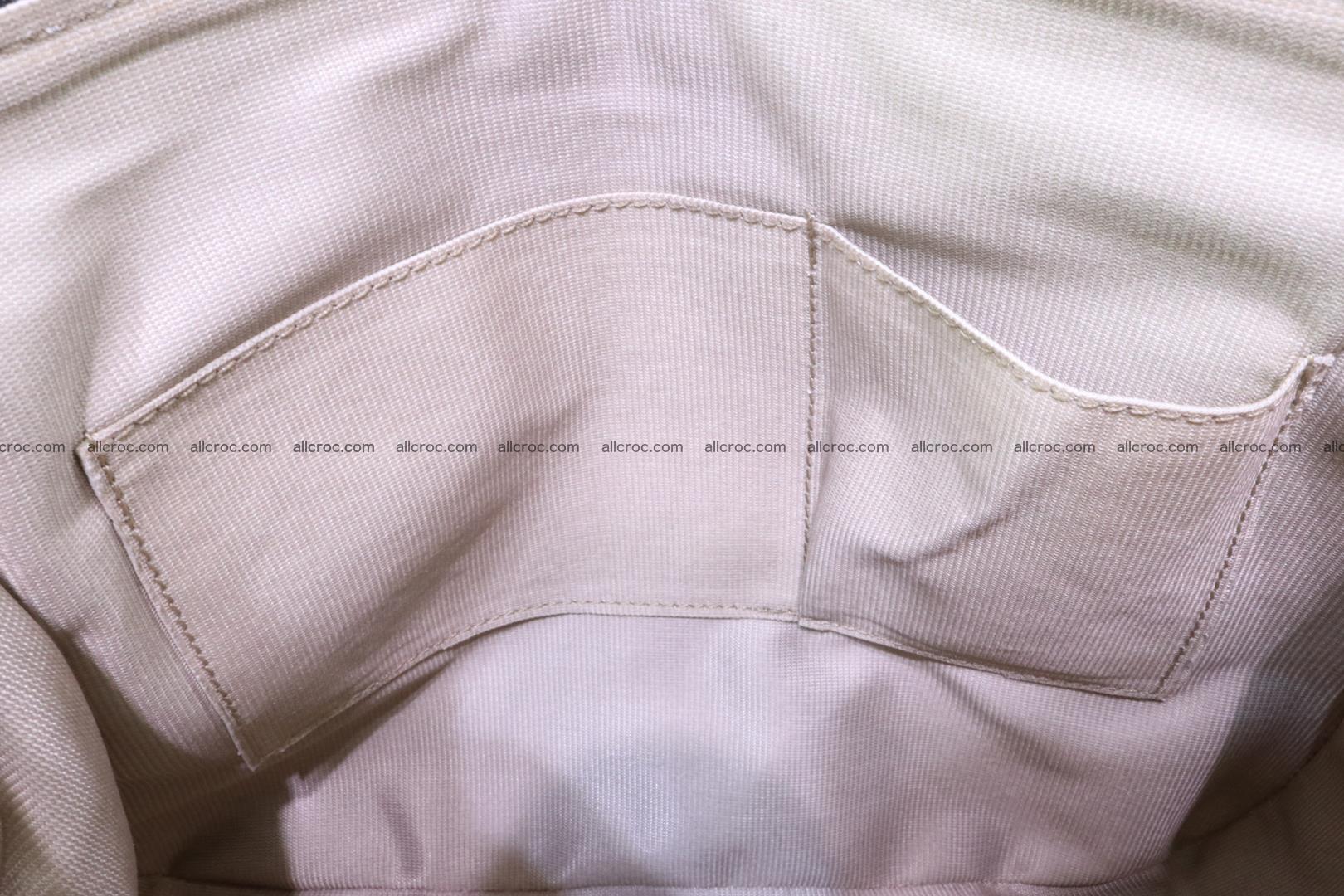 Handbag for women from genuine python skin 216 Foto 11