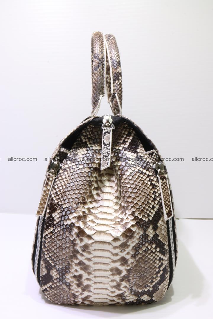 Handbag for women from genuine python skin 214 Foto 3