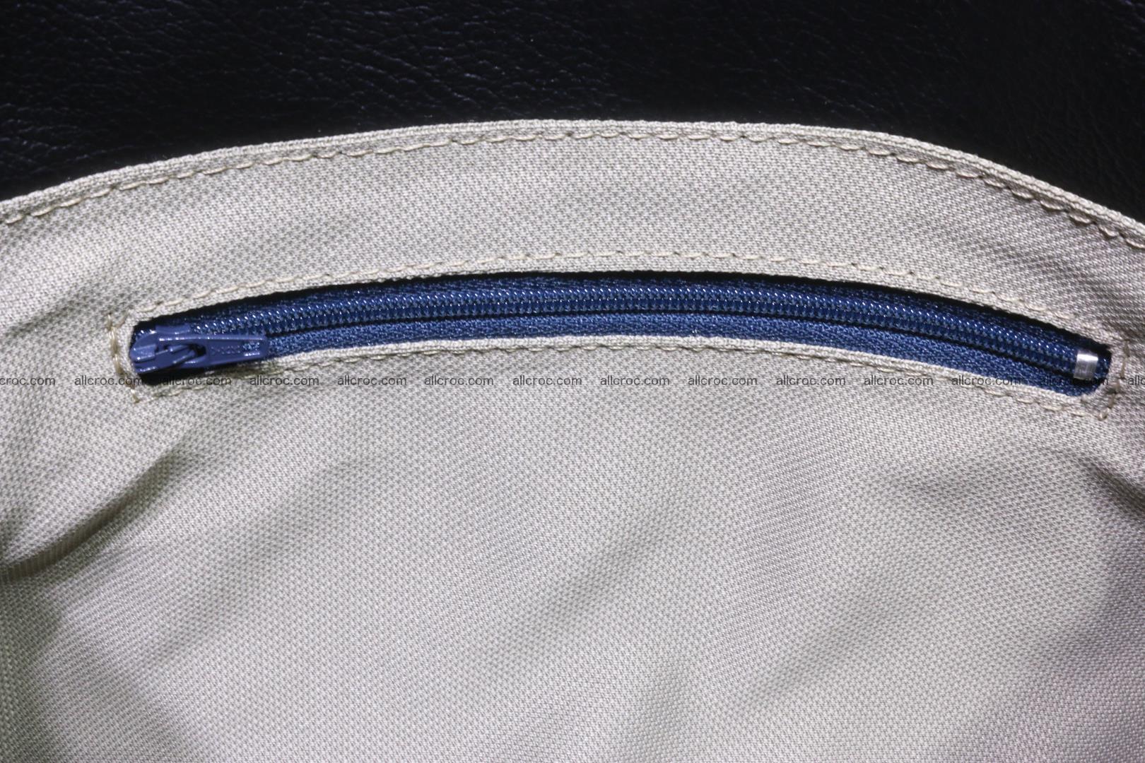 Handbag for women from genuine python skin 214 Foto 9