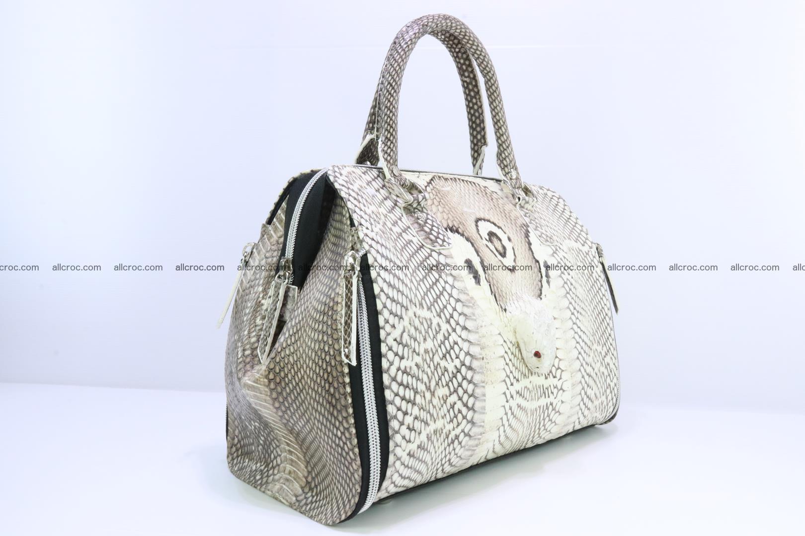Handbag from cobra skin for lady 188 Foto 1