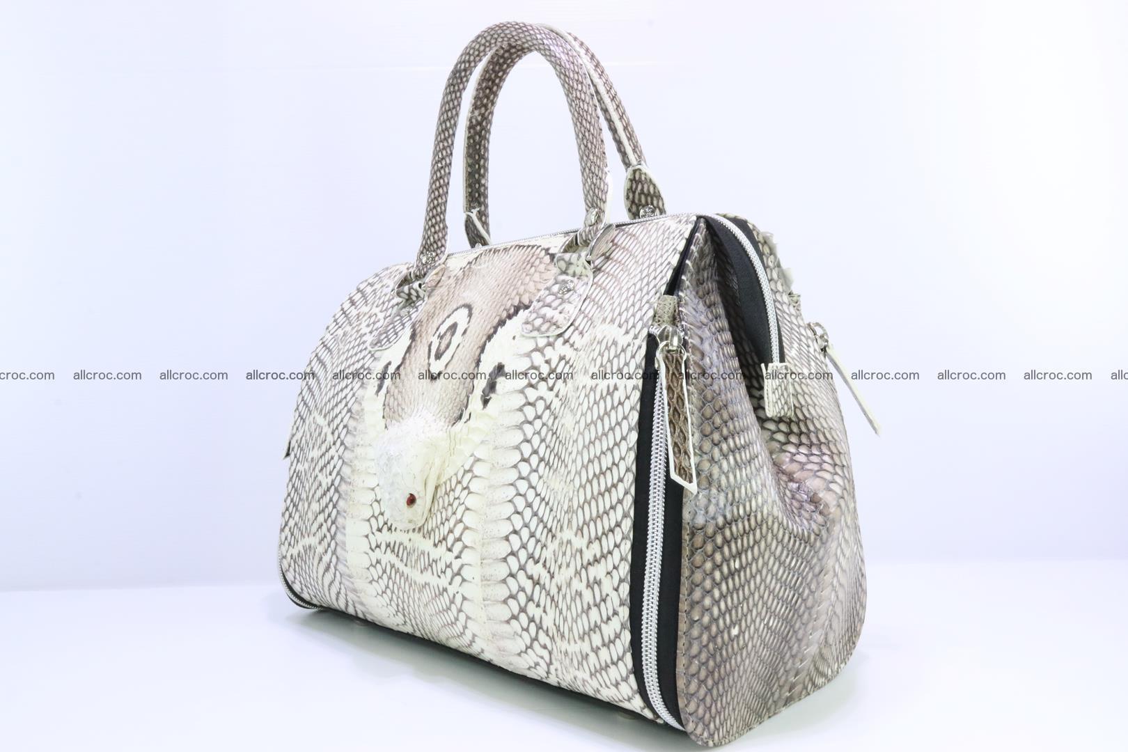 Handbag from cobra skin for lady 188 Foto 2
