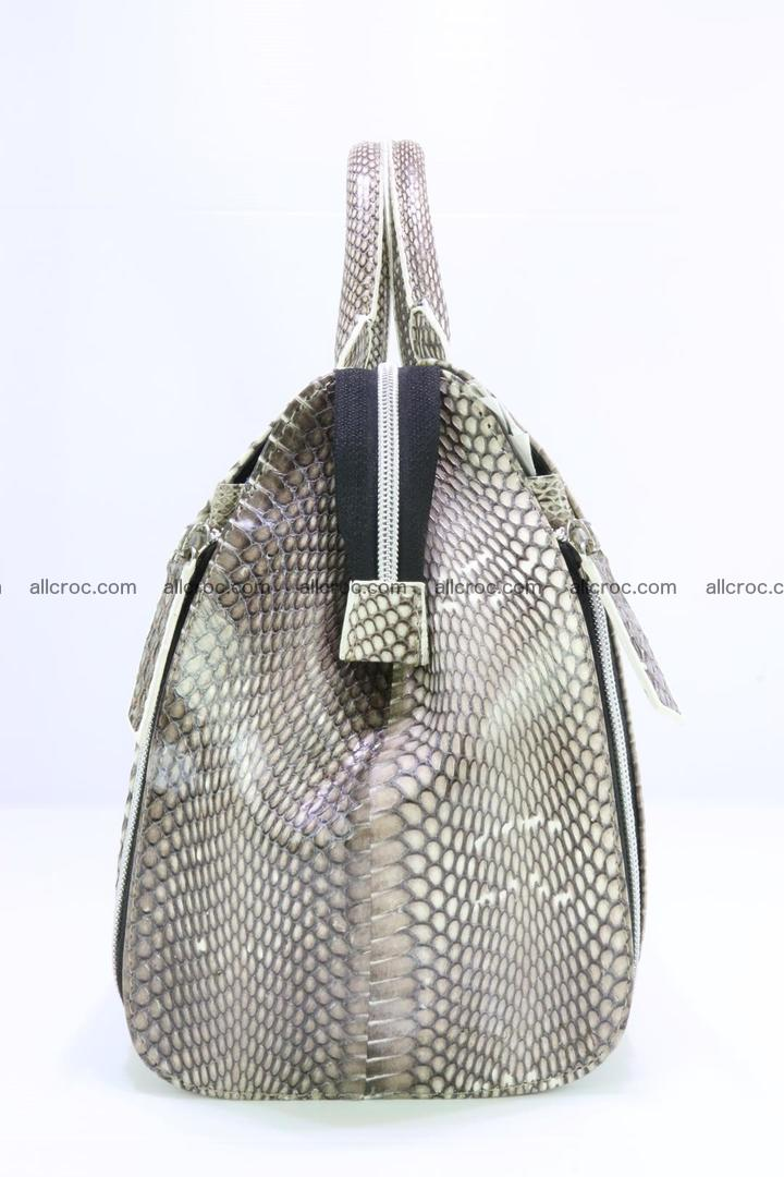 Handbag from cobra skin for lady 188 Foto 4