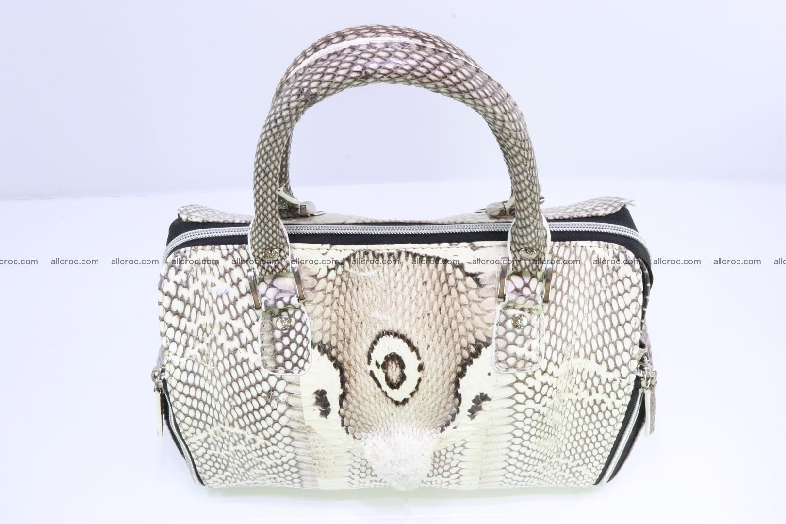 Handbag from cobra skin for lady 188 Foto 5