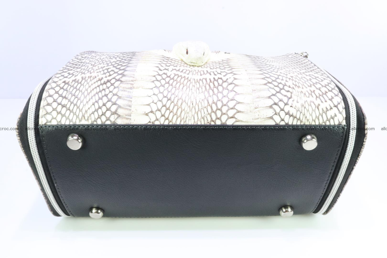 Handbag from cobra skin for lady 188 Foto 8