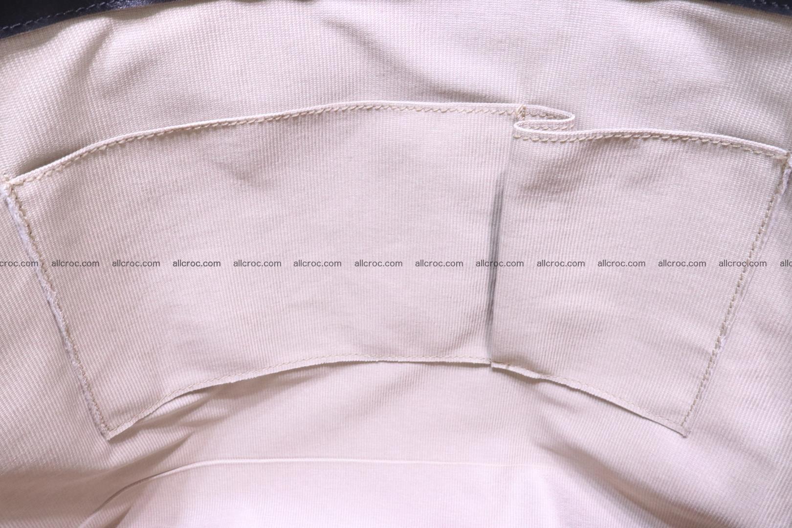 Handbag from cobra skin for lady 183 Foto 16