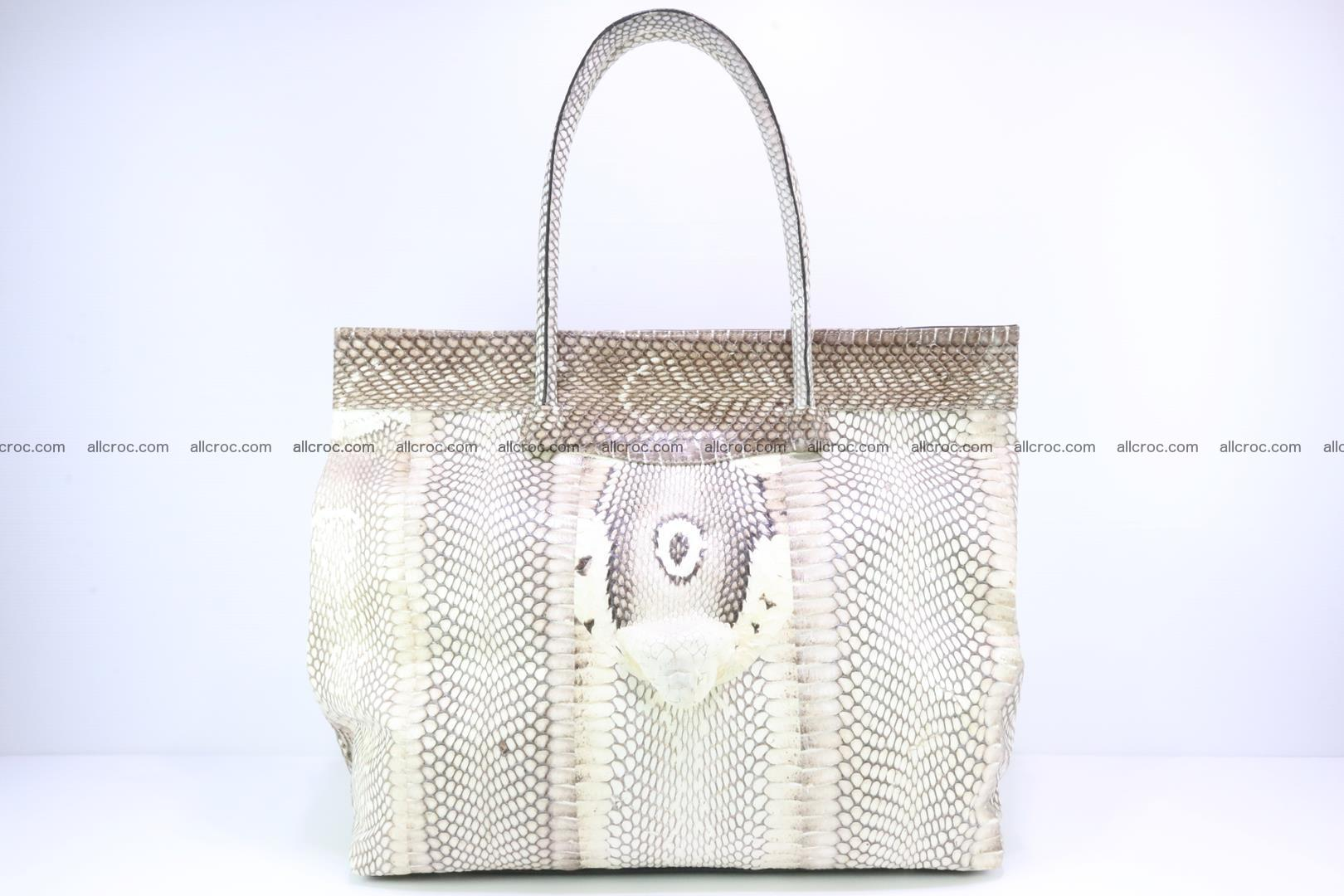 Handbag from cobra skin for lady 182 Foto 0