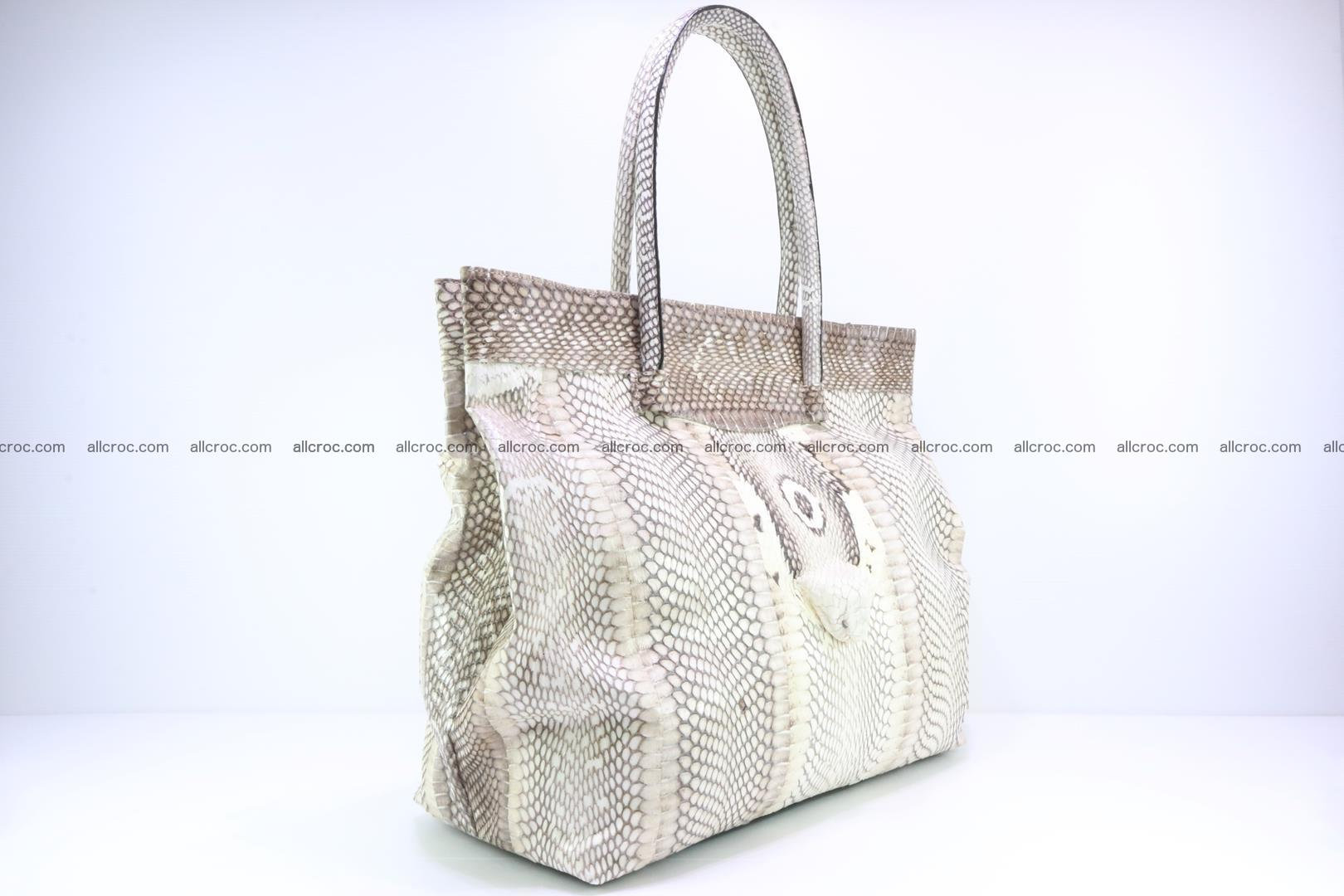 Handbag from cobra skin for lady 182 Foto 1