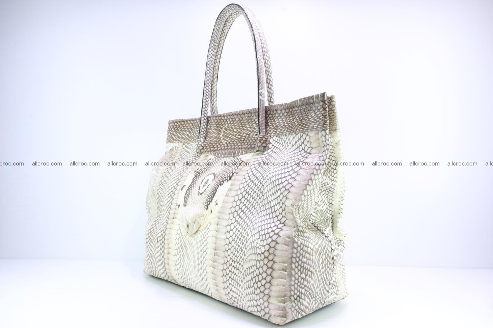 Handbag from cobra skin for lady 182 Foto 2
