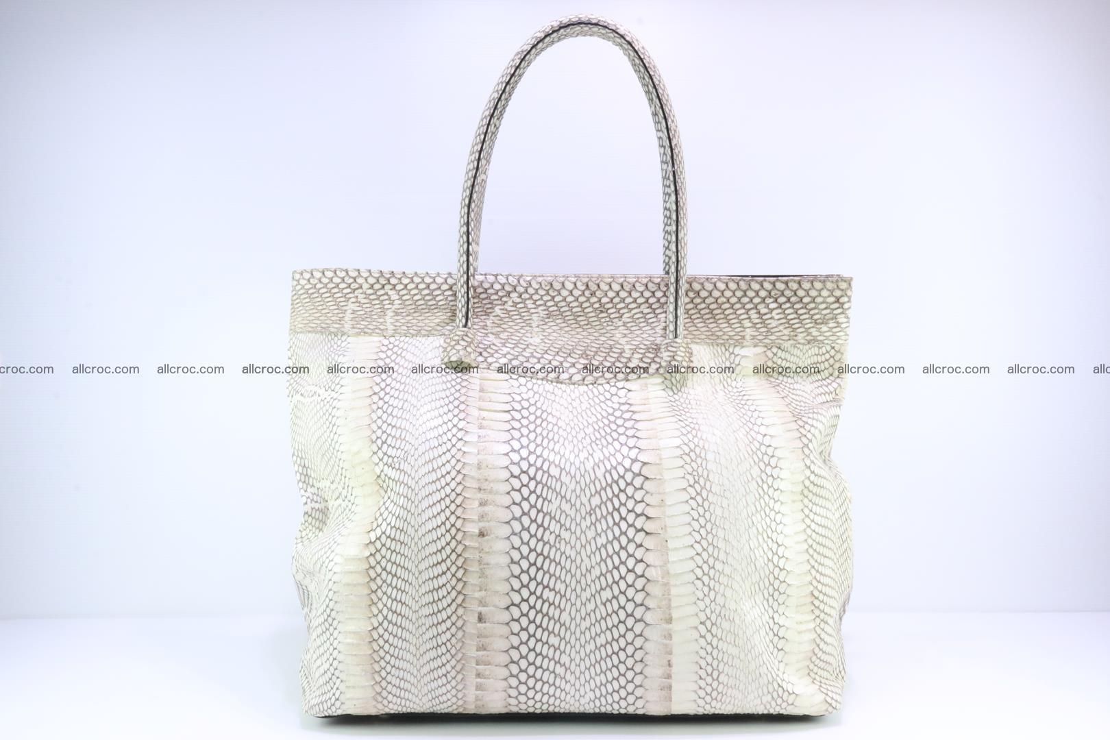 Handbag from cobra skin for lady 182 Foto 3