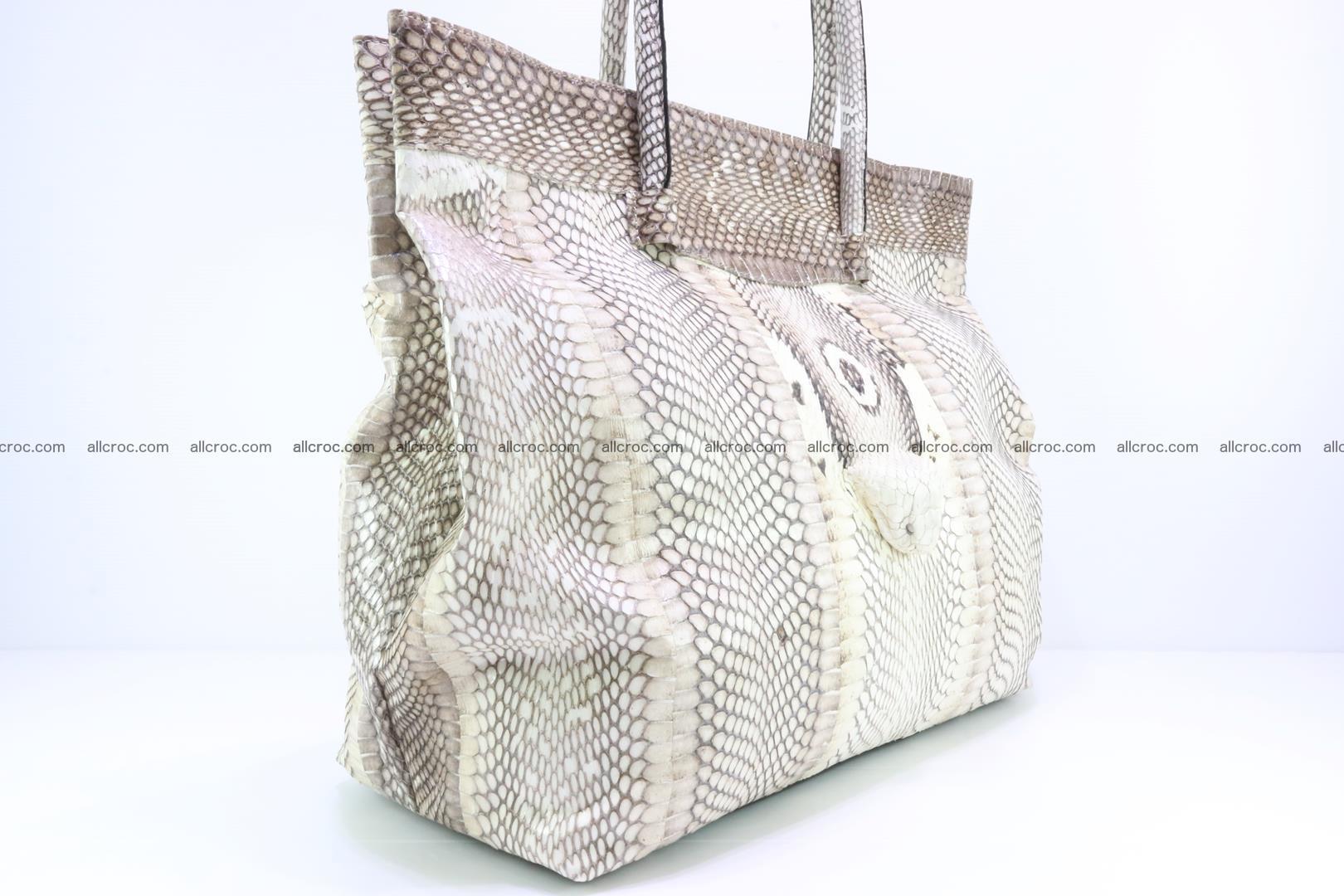 Handbag from cobra skin for lady 182 Foto 5