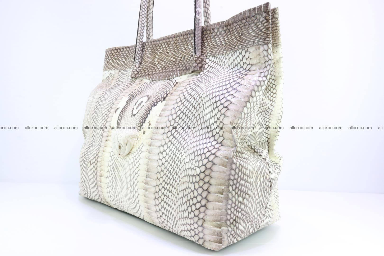 Handbag from cobra skin for lady 182 Foto 6