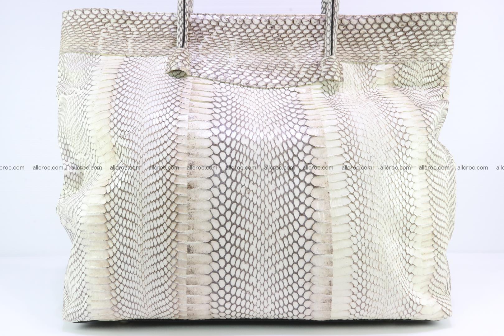 Handbag from cobra skin for lady 182 Foto 8