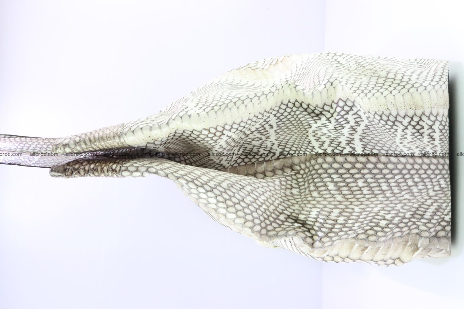 Handbag from cobra skin for lady 182 Foto 7