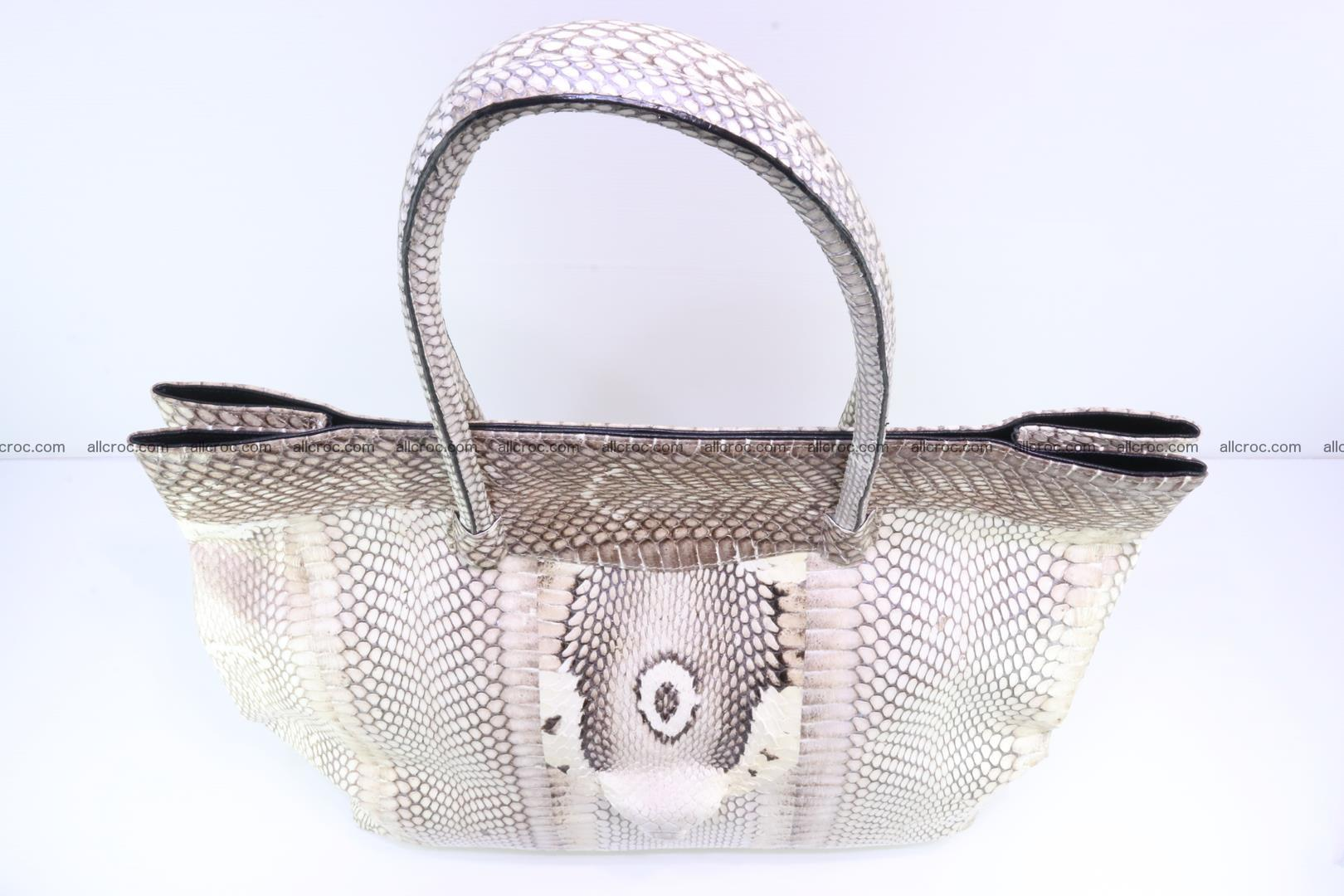 Handbag from cobra skin for lady 182 Foto 9