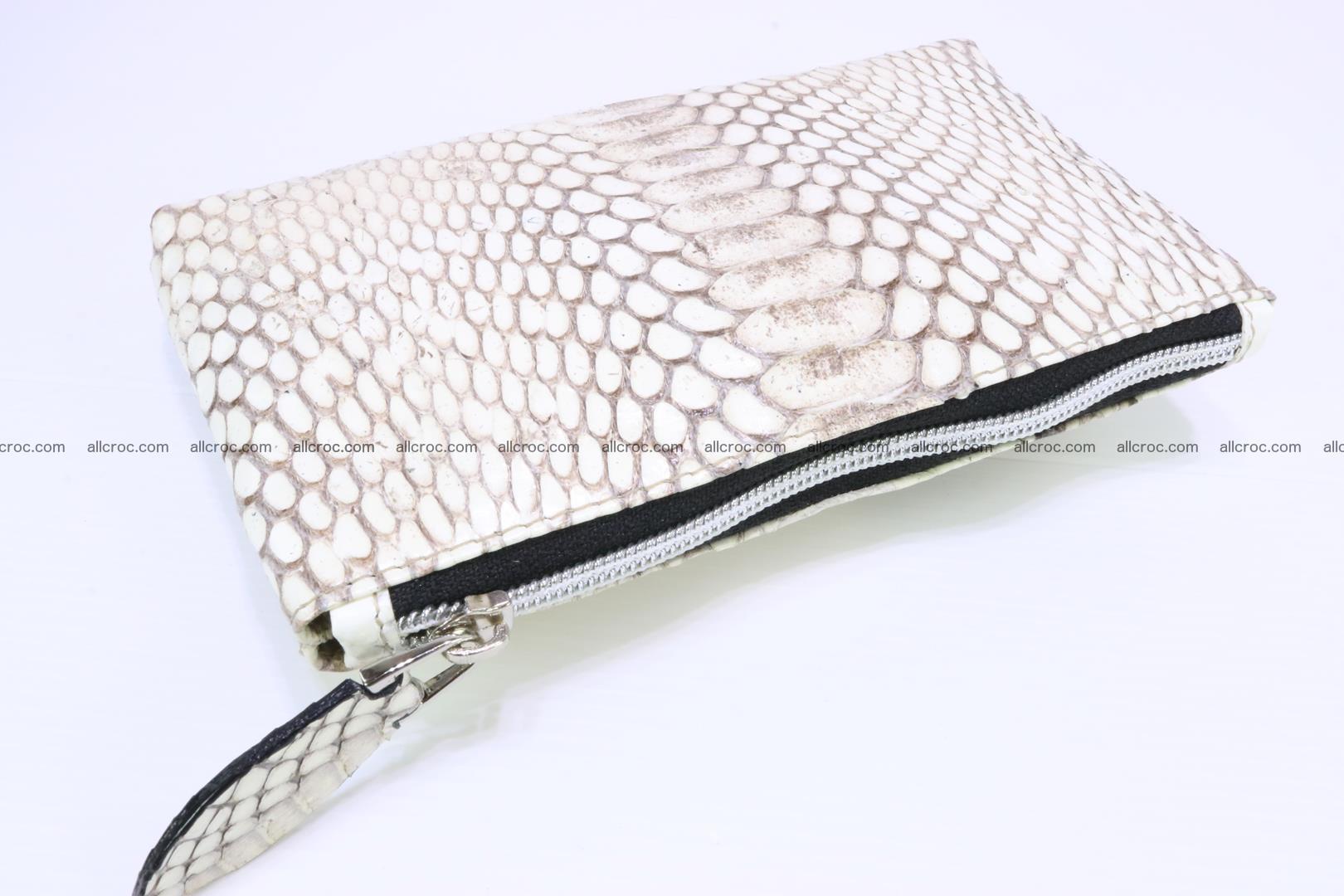 Handbag from cobra skin for lady 182 Foto 18