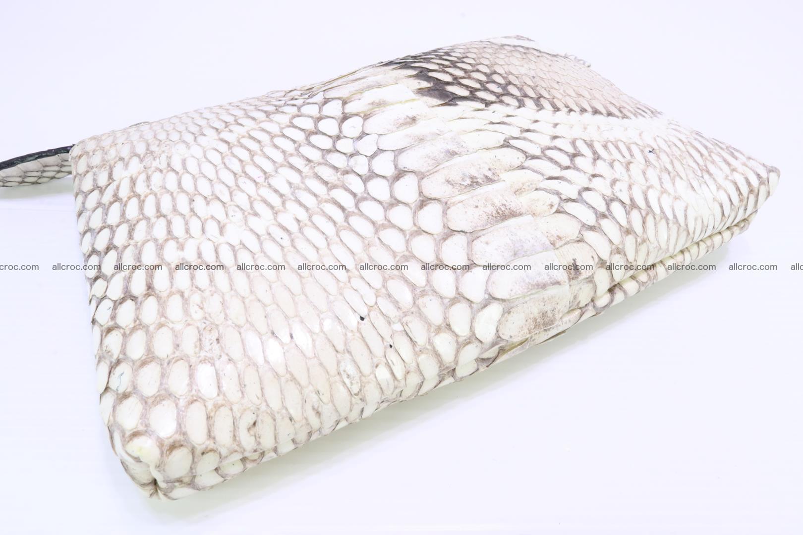 Handbag from cobra skin for lady 182 Foto 19