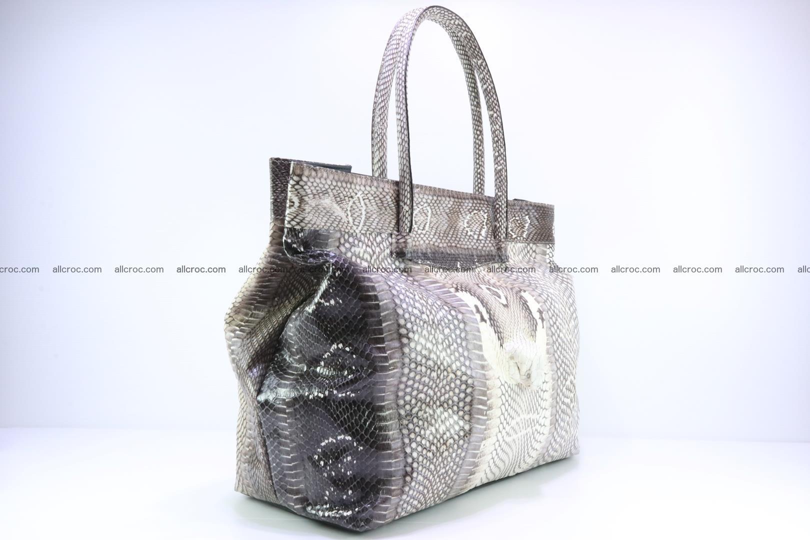 Handbag from cobra skin for lady 183 Foto 1