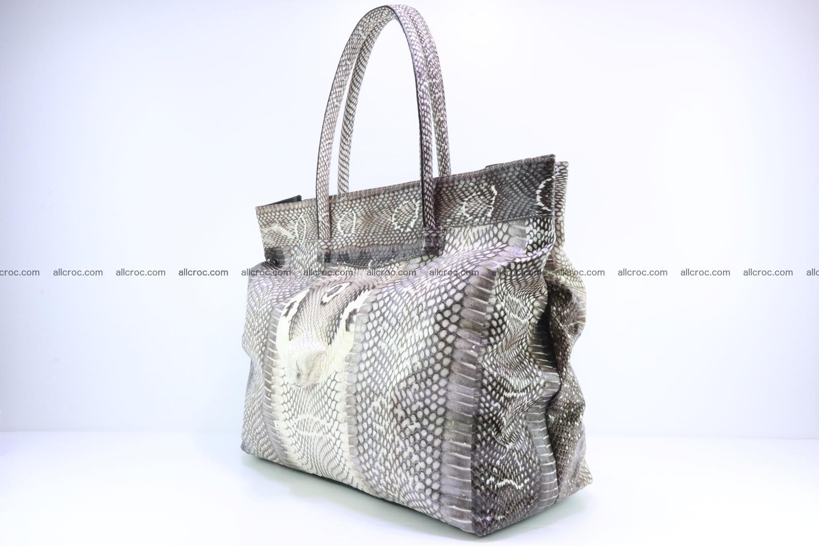 Handbag from cobra skin for lady 183 Foto 2