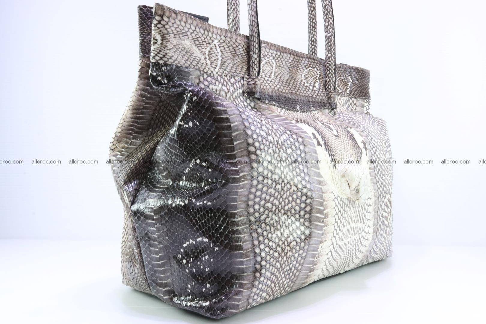 Handbag from cobra skin for lady 183 Foto 3