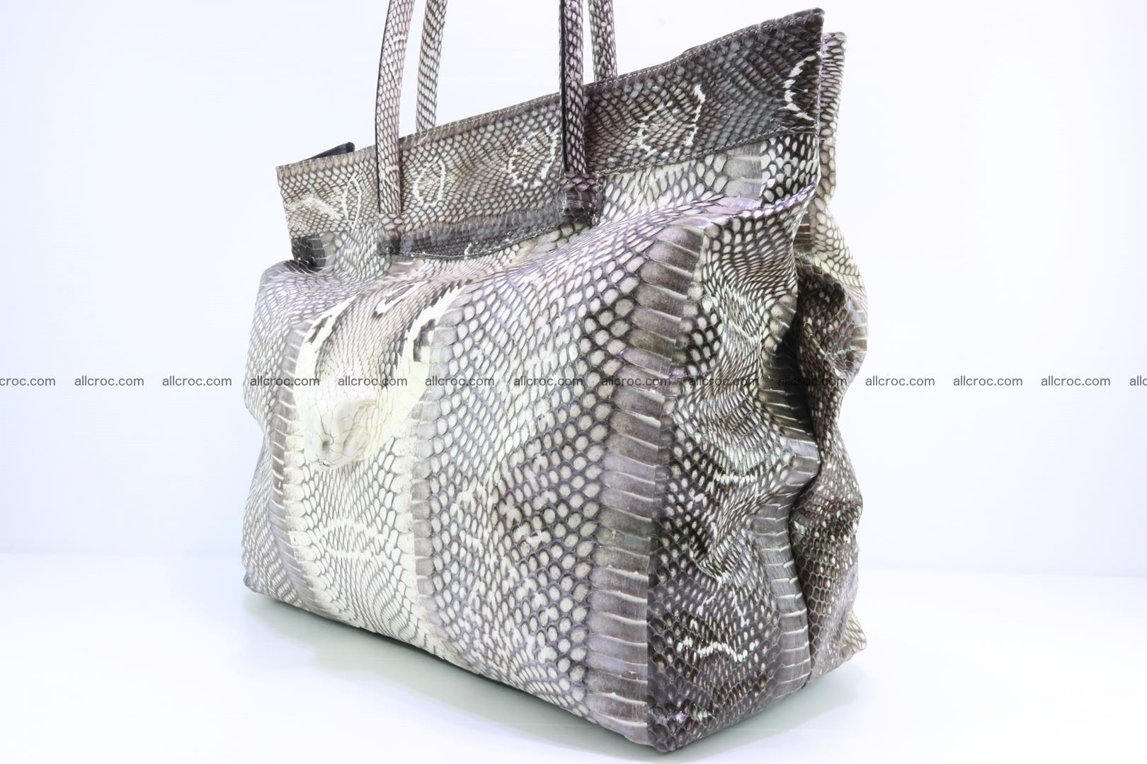 Handbag from cobra skin for lady 183 Foto 9