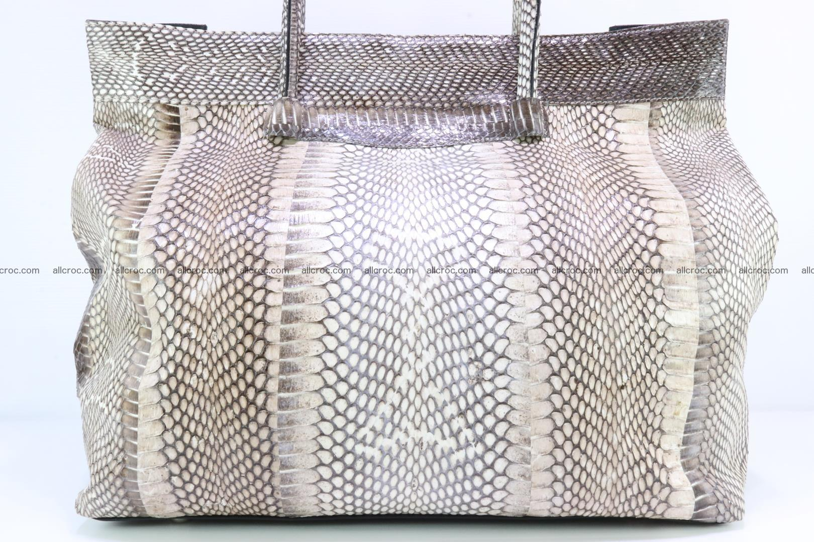 Handbag from cobra skin for lady 183 Foto 11
