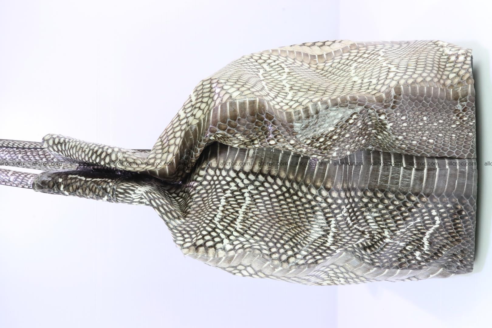 Handbag from cobra skin for lady 183 Foto 10
