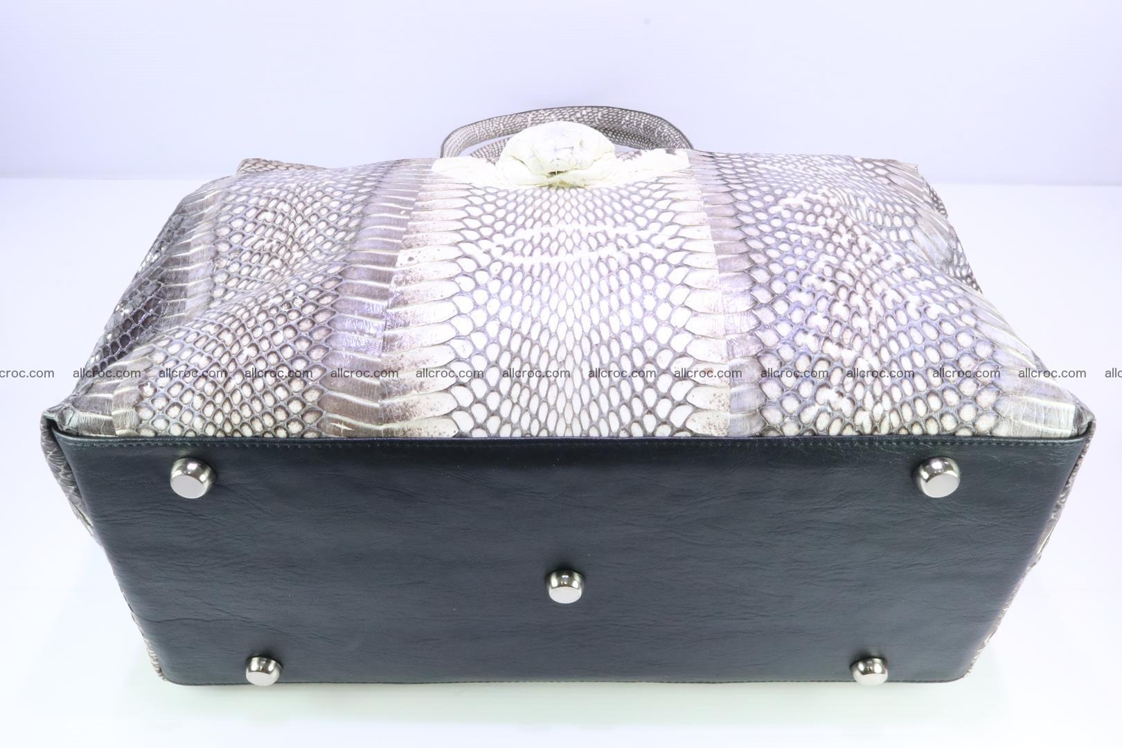 Handbag from cobra skin for lady 183 Foto 5