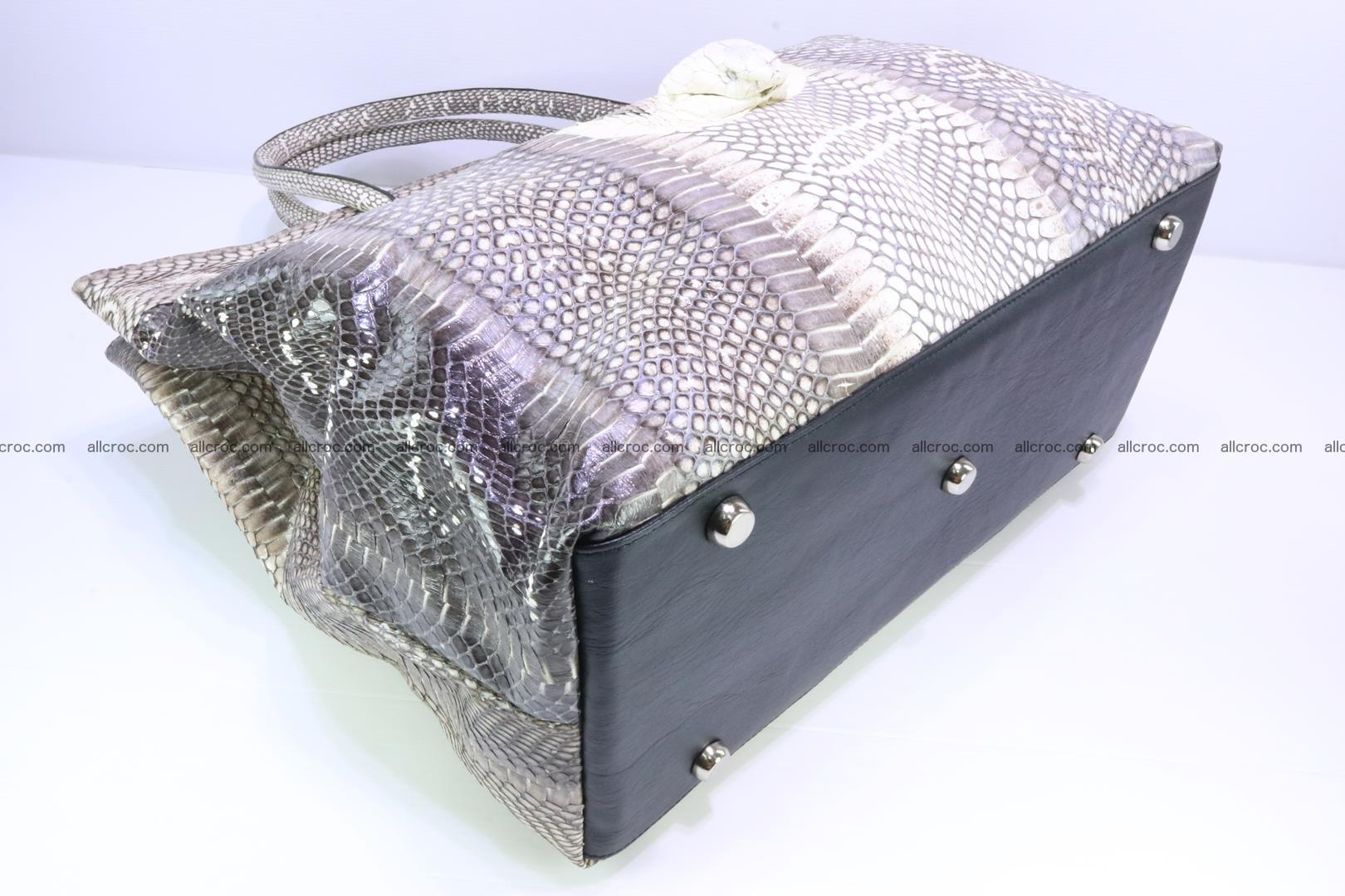 Handbag from cobra skin for lady 183 Foto 6
