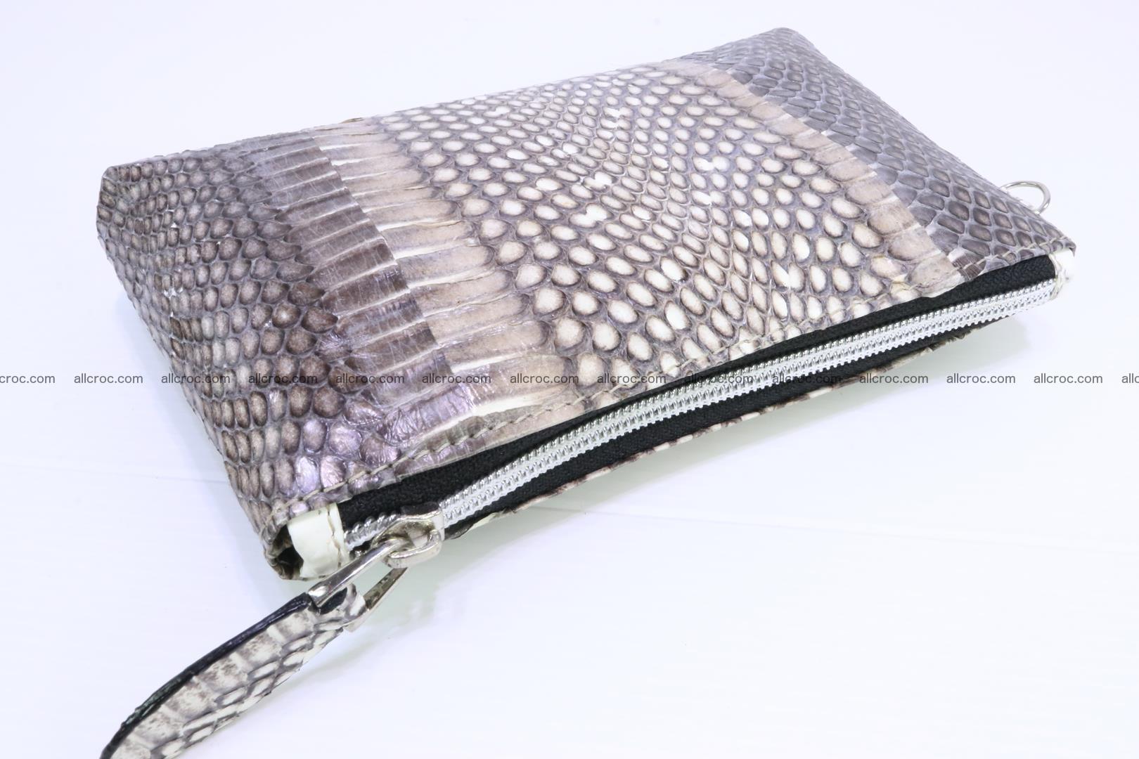 Handbag from cobra skin for lady 183 Foto 18