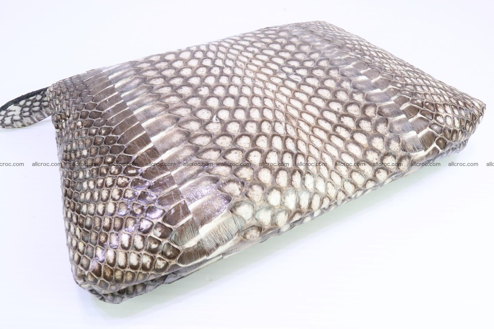 Handbag from cobra skin for lady 183 Foto 19