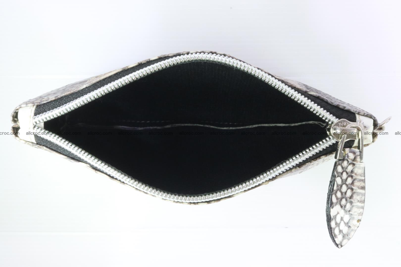Handbag from cobra skin for lady 183 Foto 20