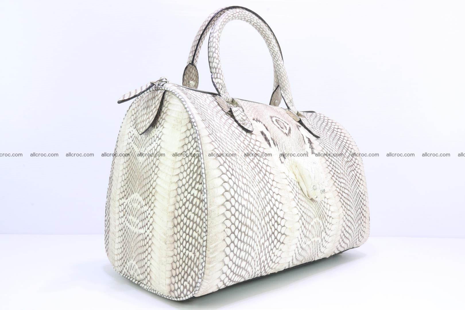 Handbag from cobra skin with head of cobra 170 Foto 1