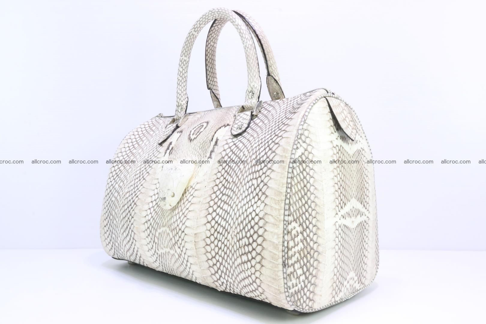Handbag from cobra skin with head of cobra 170 Foto 2