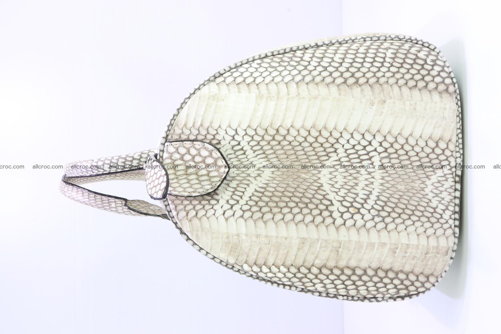 Handbag from cobra skin with head of cobra 170 Foto 4