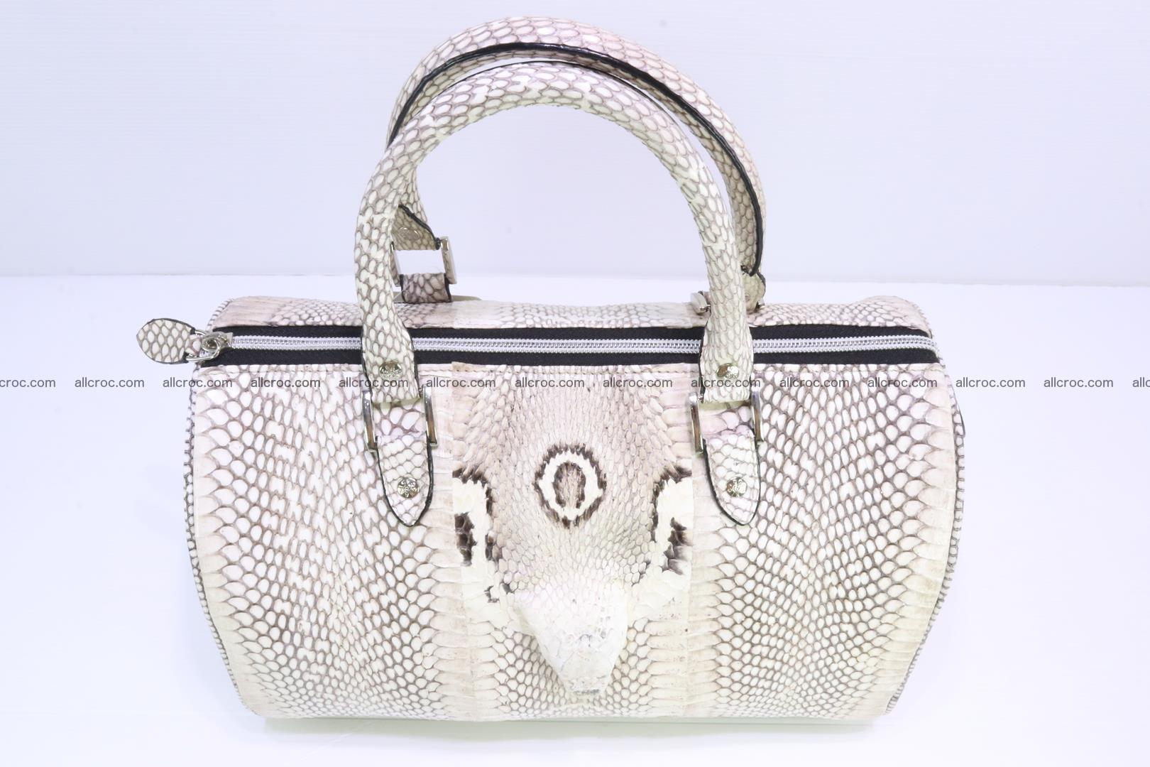 Handbag from cobra skin with head of cobra 170 Foto 5