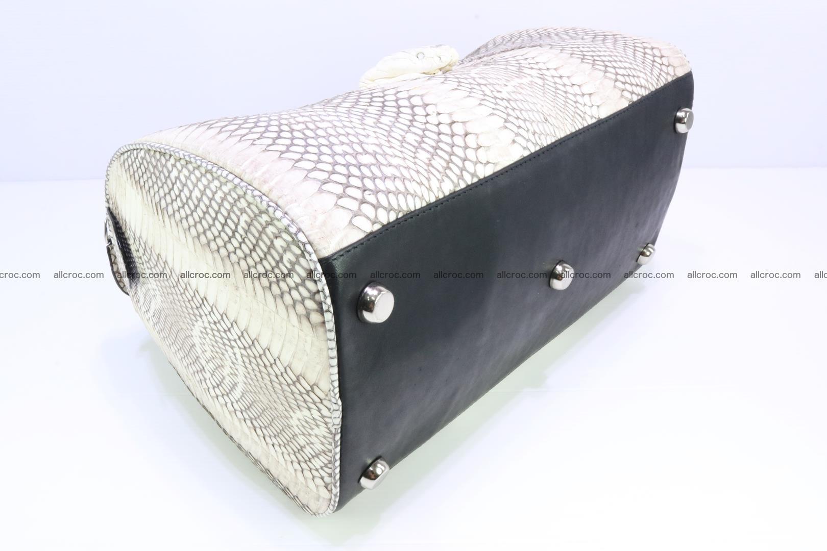 Handbag from cobra skin with head of cobra 170 Foto 8