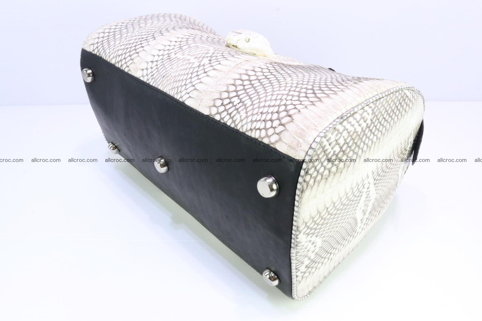 Handbag from cobra skin with head of cobra 170 Foto 9