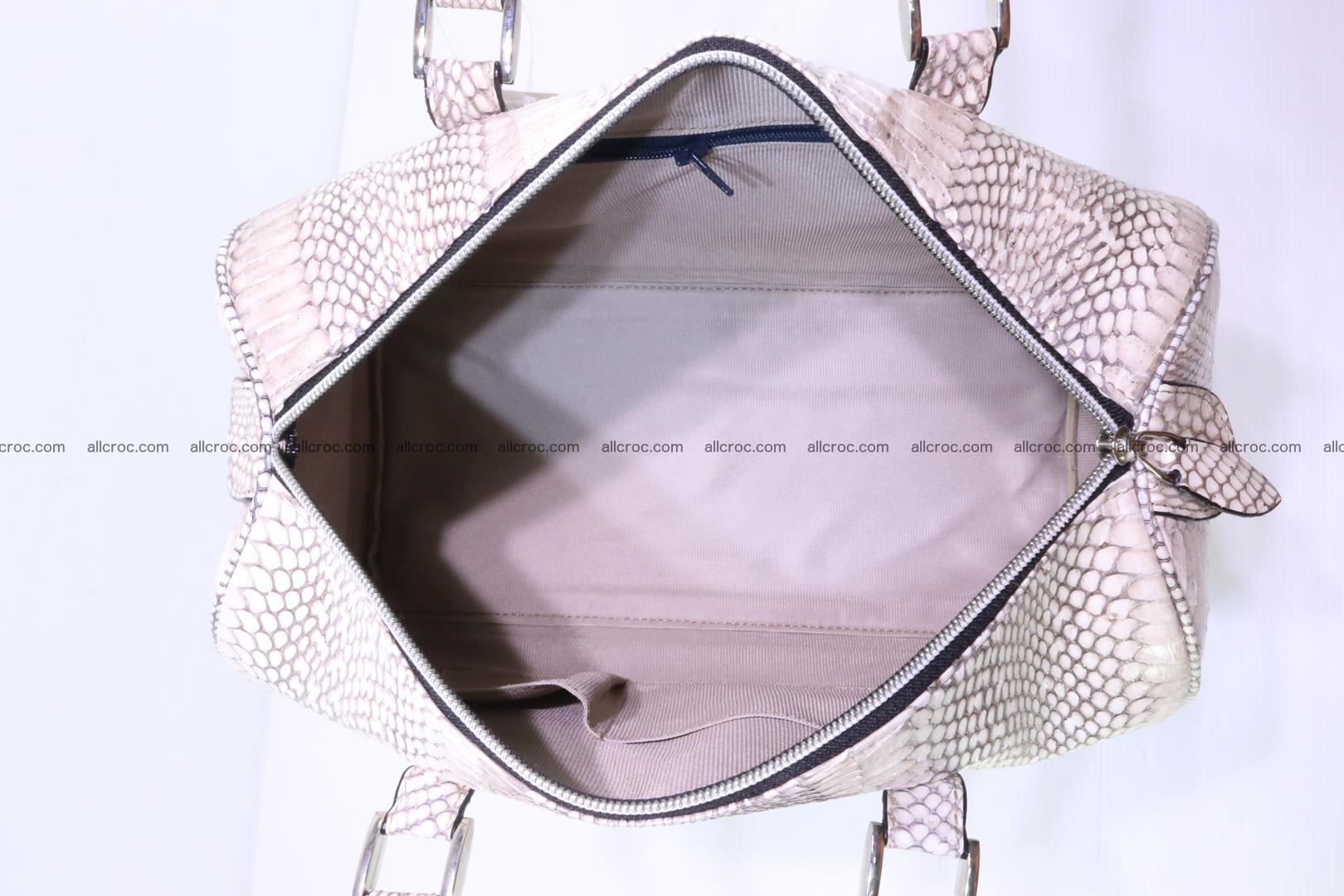 Handbag from cobra skin with head of cobra 170 Foto 10