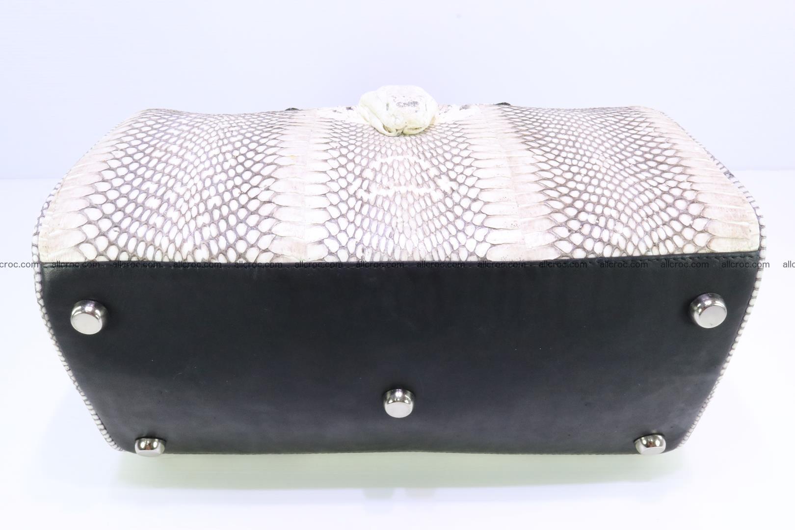 Handbag from cobra skin with head of cobra 170 Foto 12