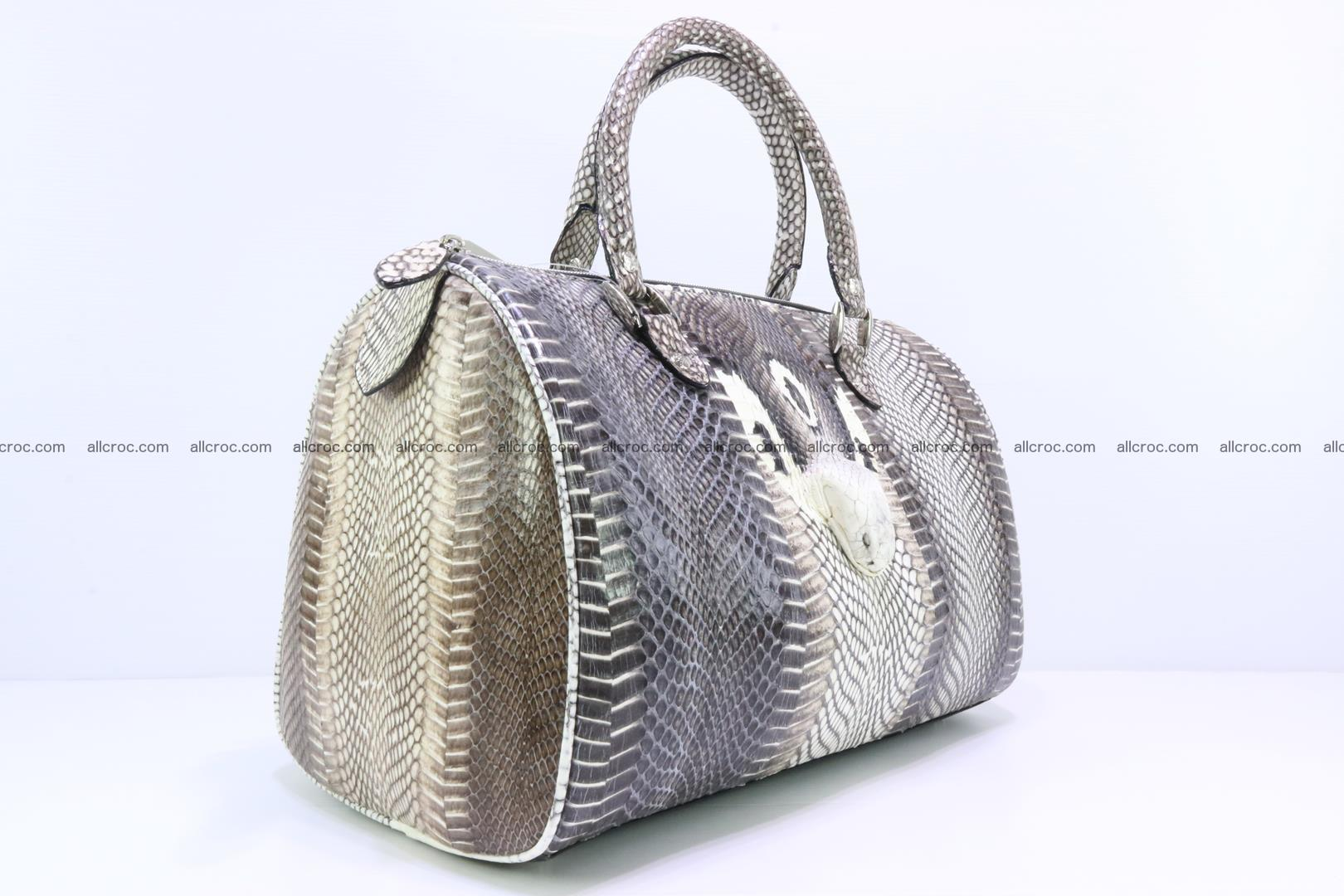 Handbag from cobra skin with head of cobra 171 Foto 6