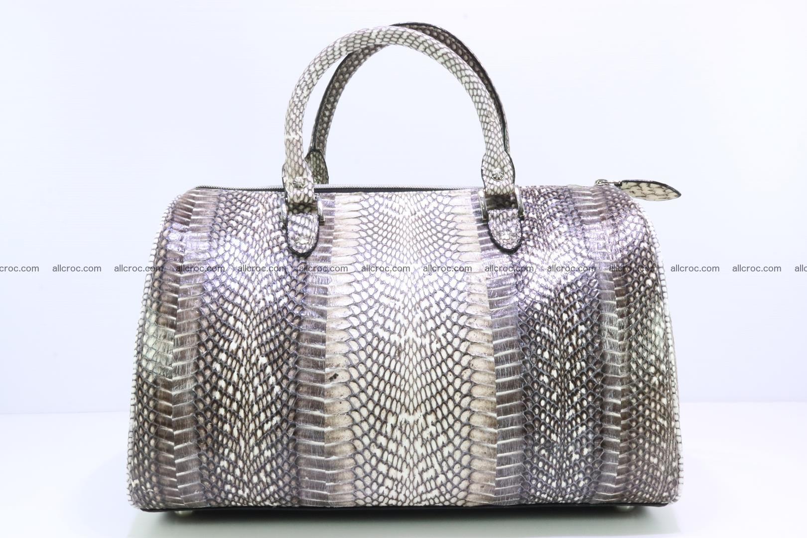 Handbag from cobra skin with head of cobra 171 Foto 5