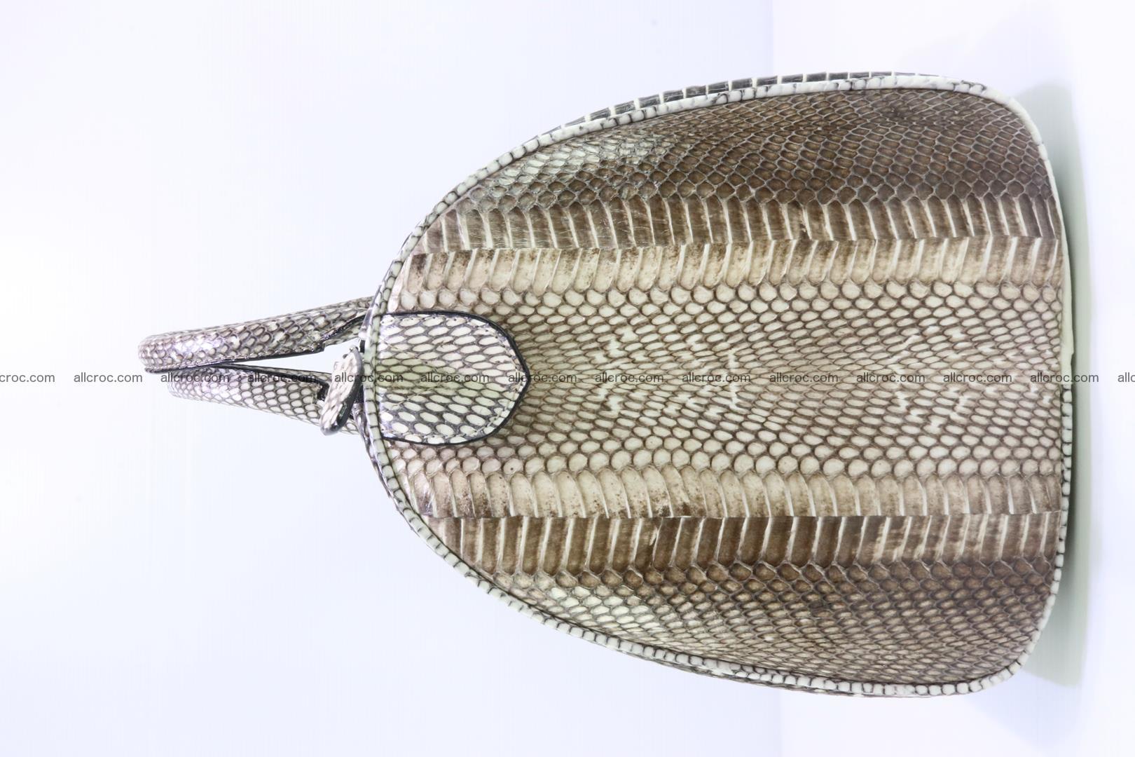 Handbag from cobra skin with head of cobra 171 Foto 8