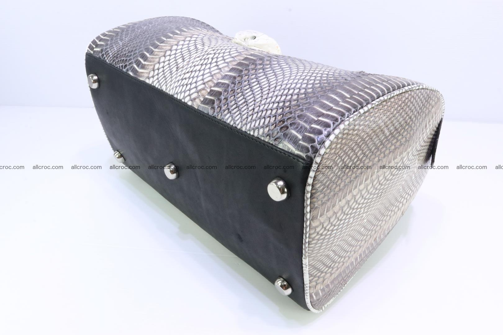 Handbag from cobra skin with head of cobra 171 Foto 7