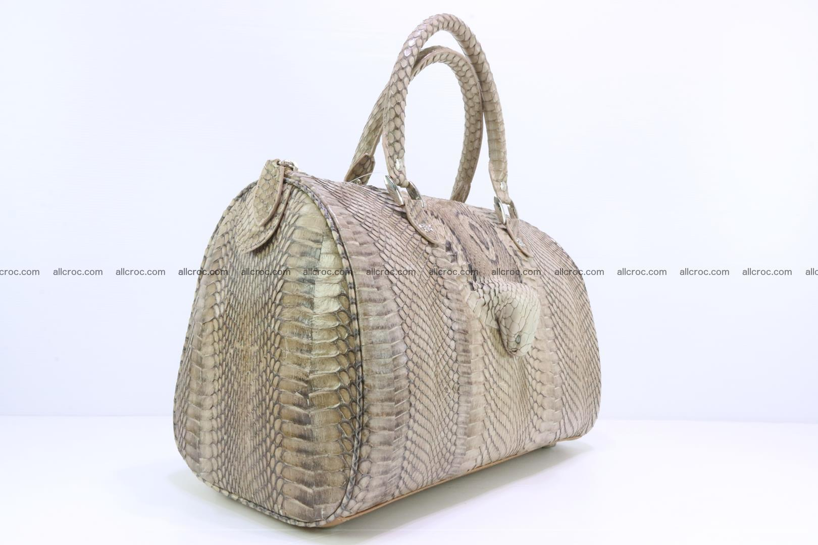 Handbag from cobra skin with head of cobra 172 Foto 3