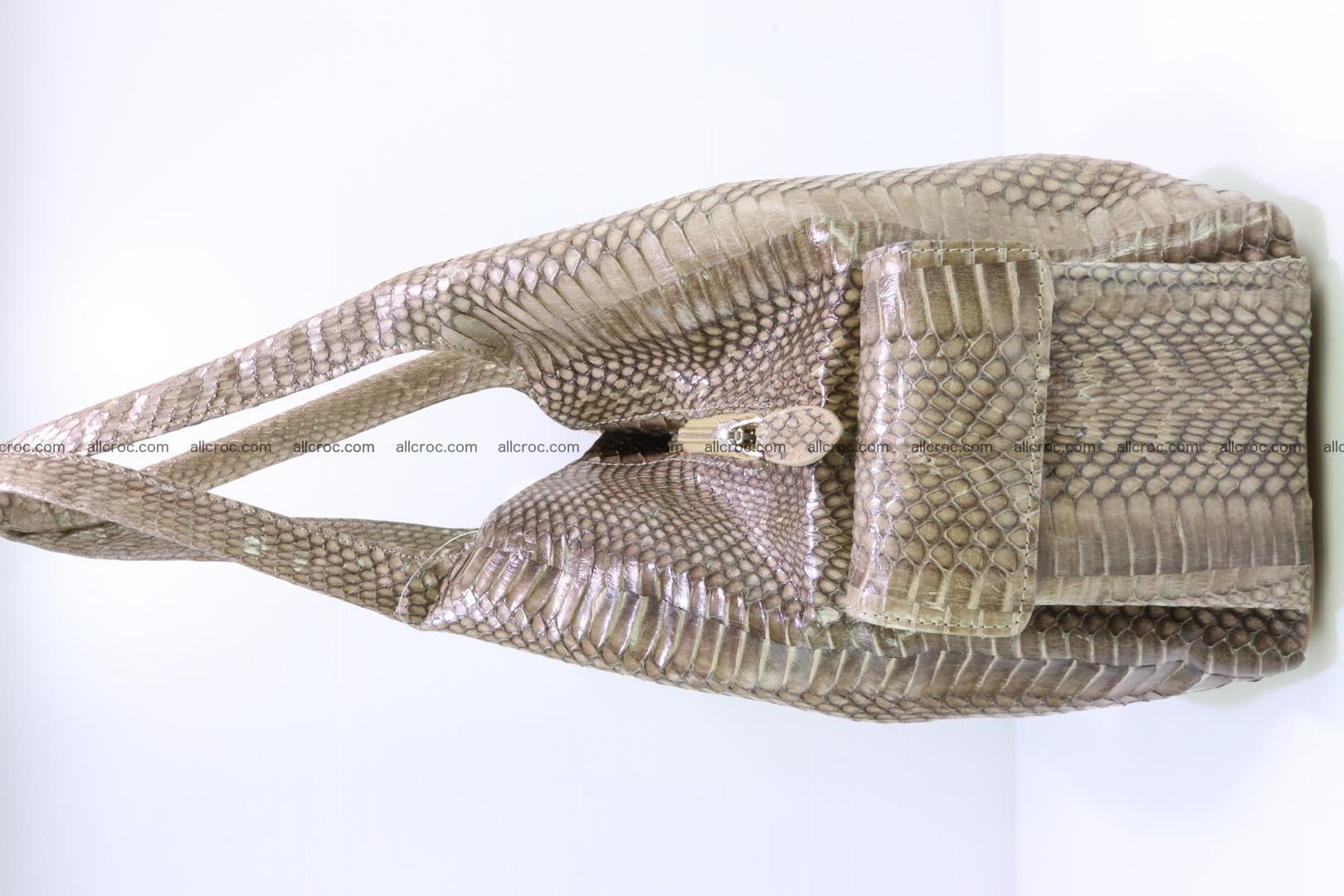Handbag from cobra skin with head of cobra 174 Foto 5
