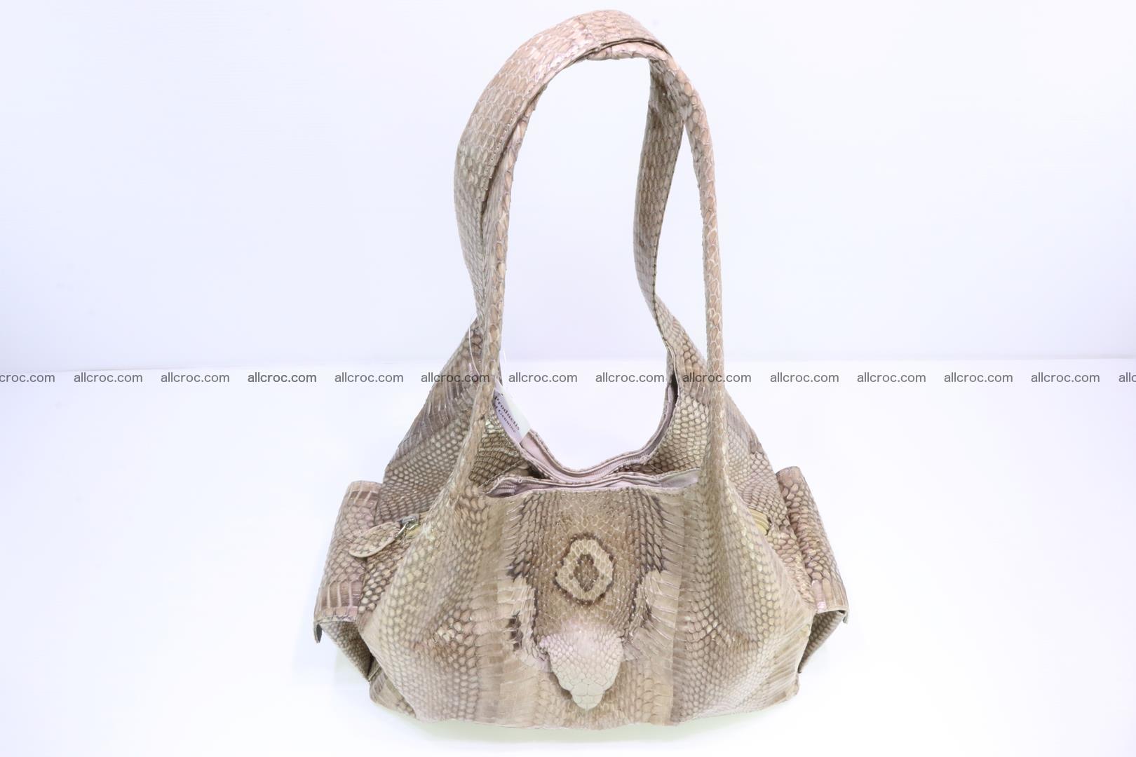 Handbag from cobra skin with head of cobra 174 Foto 4