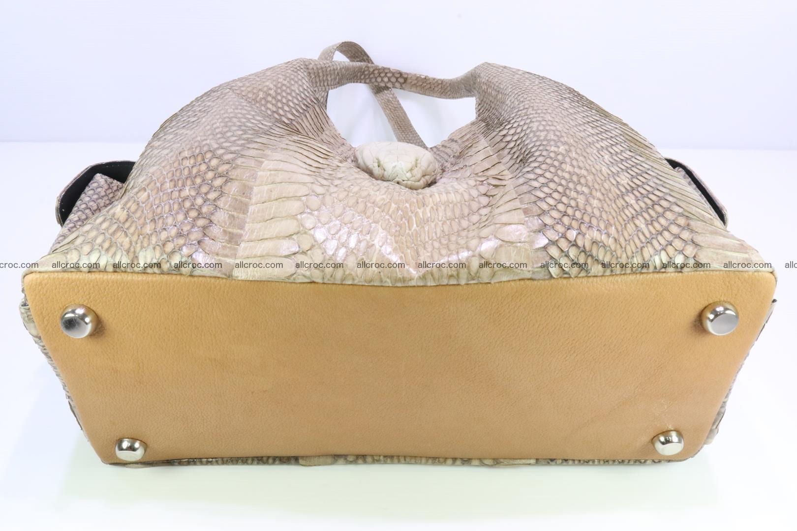 Handbag from cobra skin with head of cobra 174 Foto 6